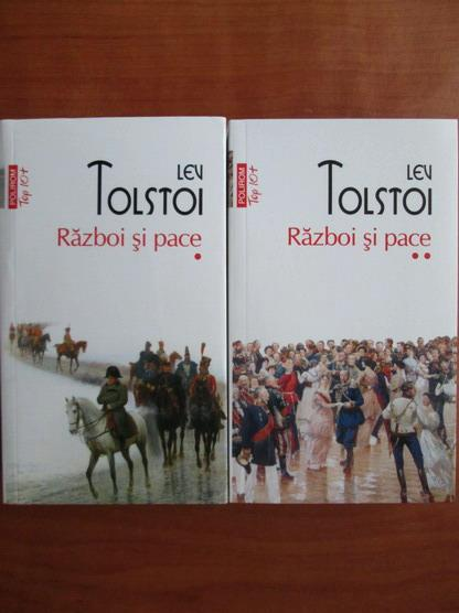 Anticariat: Lev Tolstoi - Razboi si pace (2 volume, Top 10+)