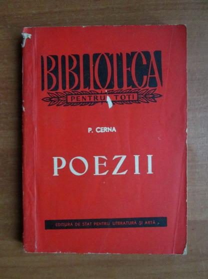 Anticariat: P. Cerna - Poezii