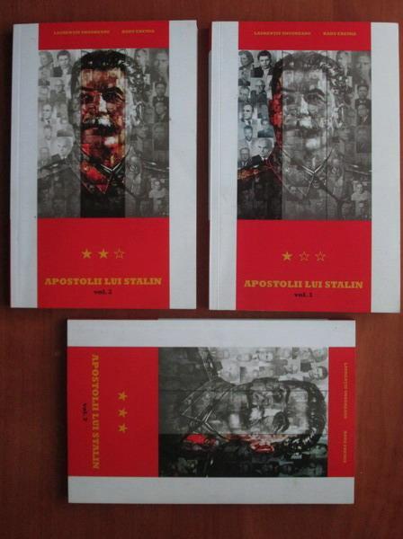 Anticariat: Laurentiu Ungureanu - Apostolii lui Stalin (3 volume)
