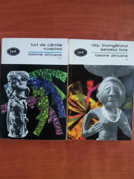 Anticariat: Basme africane (2 volume)