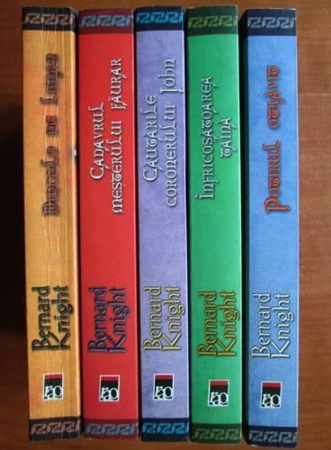 Anticariat: Bernard Knight - Seria Mistere Medievale (5 volume)