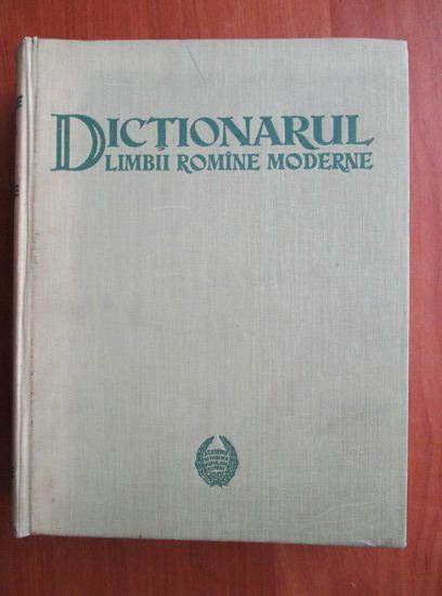 Anticariat: D. Macrea - Dictionarul limbii romane moderne (1958)