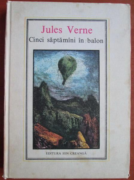 Anticariat: Jules Verne - Cinci saptamani in balon (Nr. 3)