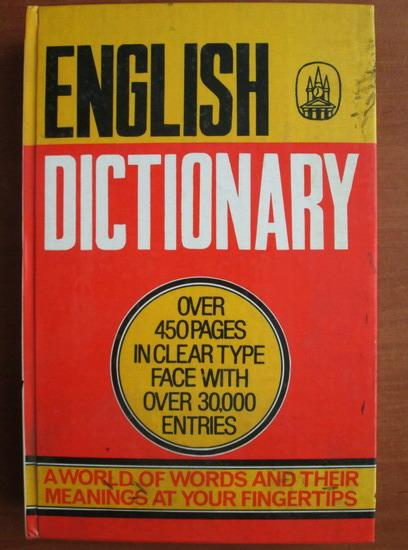 Anticariat: Standard English Dictionary (30.000 entries)