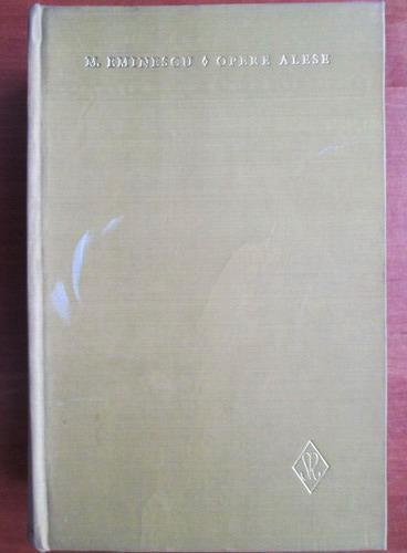 Anticariat: Mihai Eminescu - Opere alese (volumul 2 - Poezii)