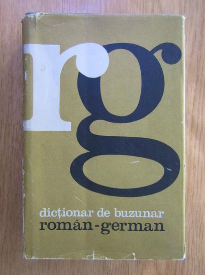 Anticariat: Mihai Isbasescu - Dictionar de buzunar Roman-German