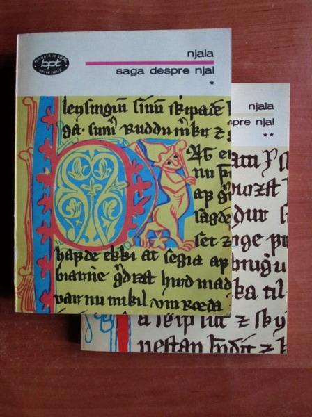 Anticariat: Njala - Saga despre Njal (2 volume)