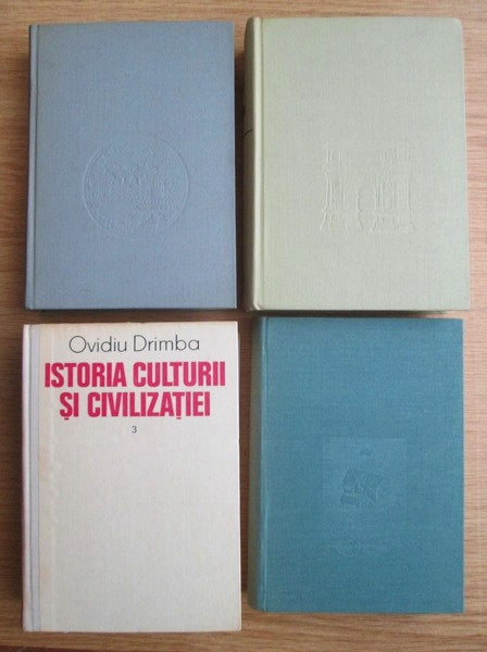 Anticariat: Ovidiu Drimba - Istoria culturii si civilizatiei (4 volume)