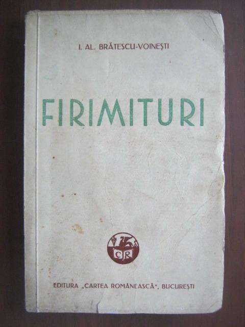 Anticariat: Ioan Alexandru Bratescu Voinesti - Firimituri (1939)