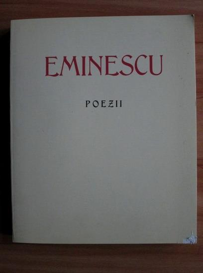 Anticariat: Mihai Eminescu - Poezii (Ed. Saeculum I.O., 1995)