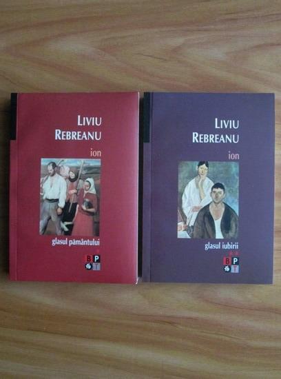 Anticariat: Liviu Rebreanu - Ion (2 volume, Editura Minerva, 2007)