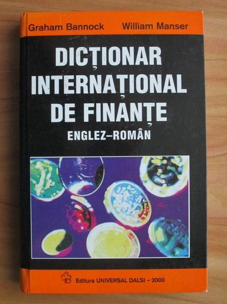 Anticariat: Graham Bannock - Dictionar international de finante englez-roman