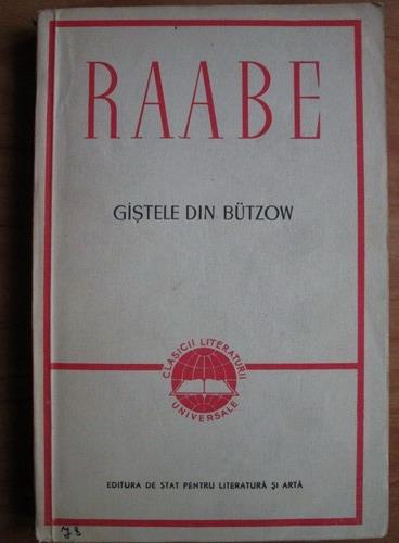 Anticariat: Wilhelm Raabe - Gastele din Butzow