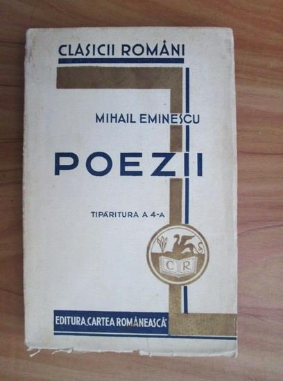 Anticariat: Mihai Eminescu - Poezii (1932)