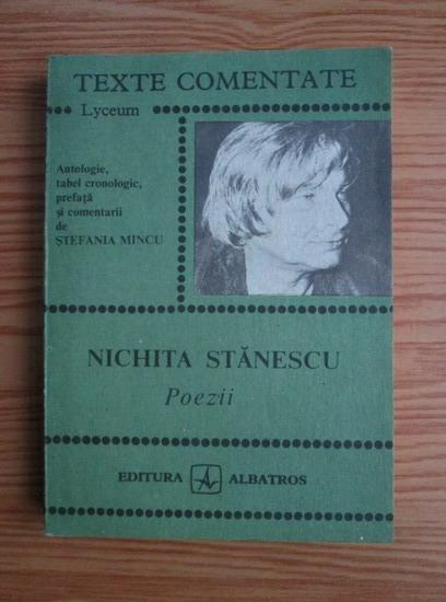 Anticariat: Nichita Stanescu - Poezii