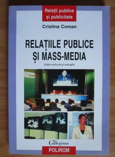 Anticariat: Cristina Coman - Relatiile publice si mass-media