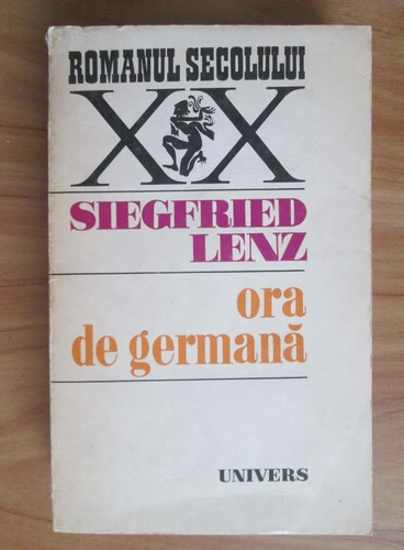 Anticariat: Siegfried Lenz - Ora de germana