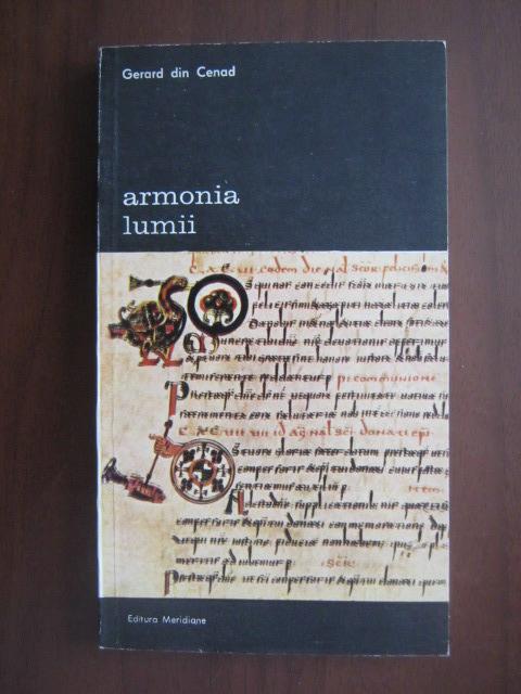 Anticariat: Gerard din Cenad - Armonia lumii