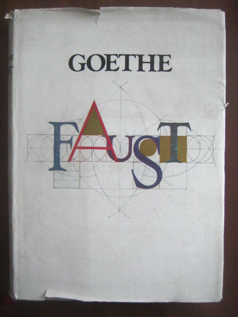 Anticariat: Goethe - Faust (format mare, cu ilustratii)