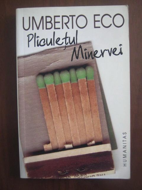 Anticariat: Umberto Eco - Pliculetul Minervei