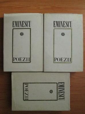 Anticariat: Mihai Eminescu - Poezii (3 volume)