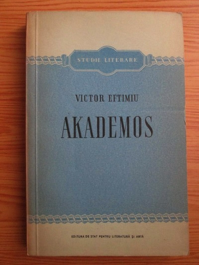 Anticariat: Victor Eftimiu - Akademos