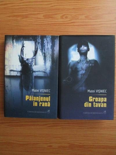 Anticariat: Matei Visniec - Teatru. Paianjenul in rana. Groapa din tavan (2 volume)