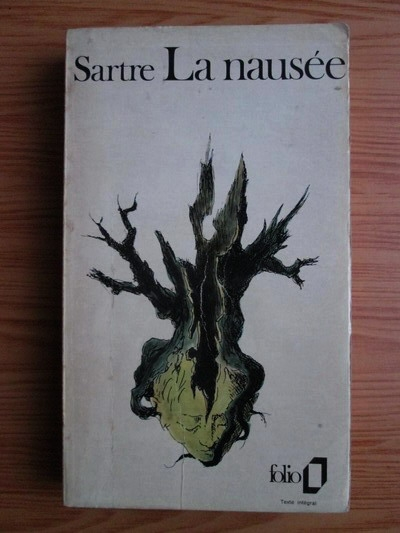 Anticariat: Jean-Paul Sartre - La nausee (1938)