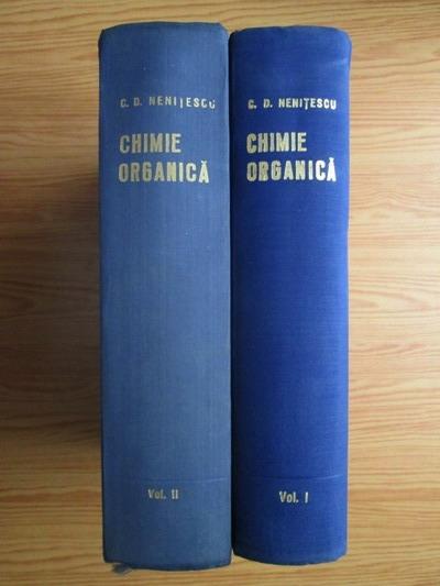 Anticariat: Costin D. Nenitescu - Chimie organica (2 volume)