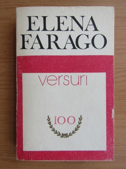 Anticariat: Elena Farago - Versuri