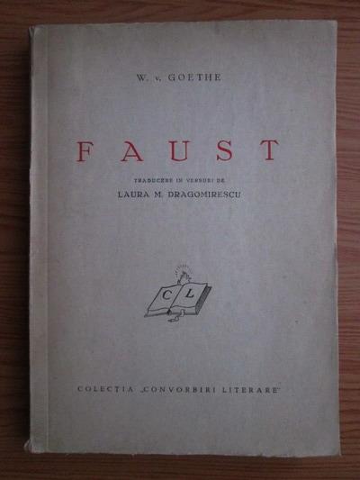 Anticariat: Johann Wolfgang Goethe - Faust (1940)