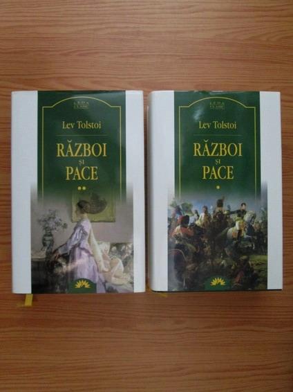 Anticariat: Lev Tolstoi - Razboi si pace, 2 volume (Leda Clasic)
