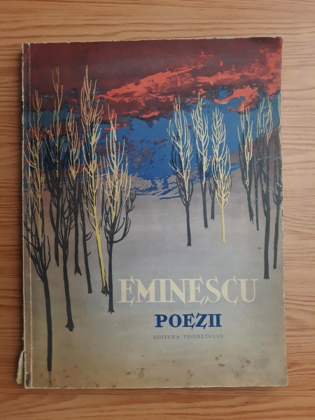 Anticariat: Mihai Eminescu - Poezii (editie 1961, ilustratii de Perahim)