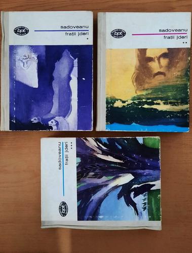 Anticariat: Mihail Sadoveanu - Fratii Jderi (3 volume, cartonate)
