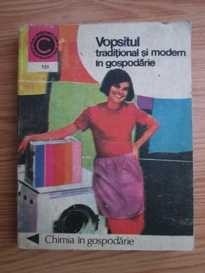 Anticariat: Agneta Batca - Vopsitul traditional si modern in gospodarie