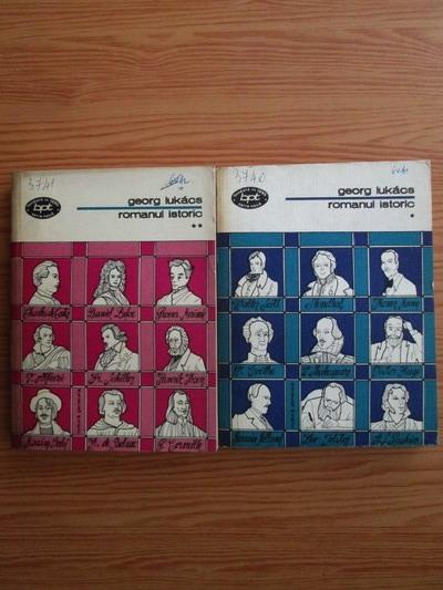 Anticariat: Georg Lukacs - Romanul istoric (2 volume)