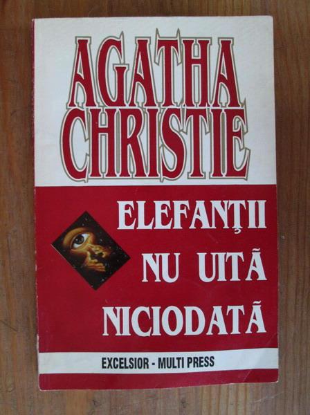 Anticariat: Agatha Christie - Elefantii nu uita niciodata