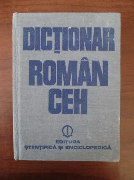 Anticariat: Anca Irina Ionescu - Dictionar Roman-Ceh