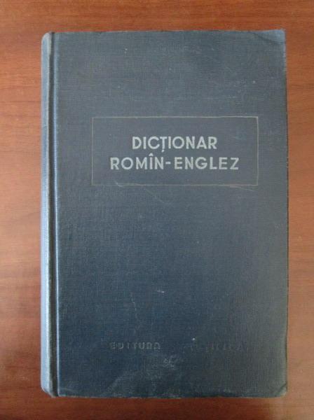Anticariat: Leon Levitchi - Dictionar Roman-Englez