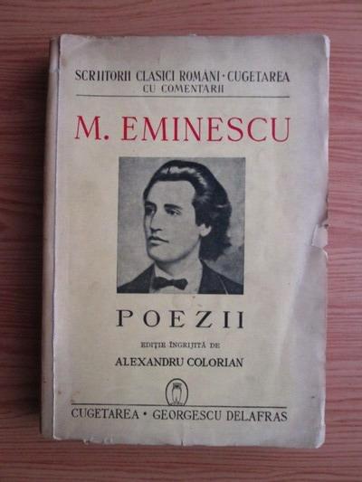 Anticariat: Mihai Eminescu - Poezii (1940)