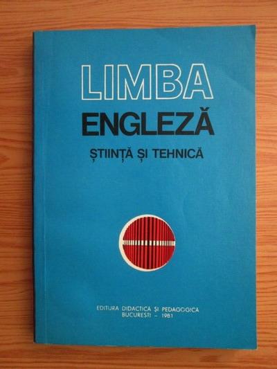 Anticariat: Andrei Bantas - Limba engleza. Stiinta si tehnica