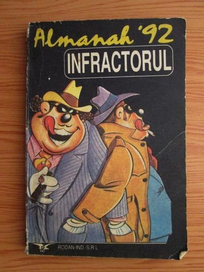 Anticariat: Revista Almanah 92: Infractorul