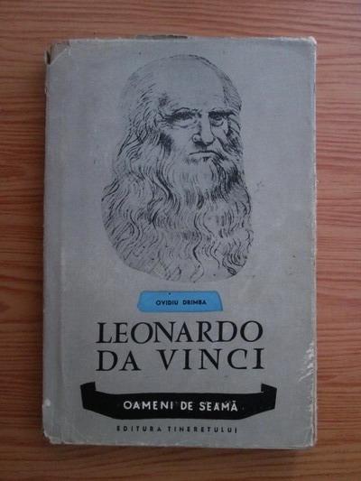 Anticariat: Ovidiu Drimba - Leonardo da Vinci