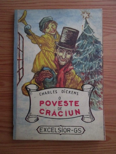 Anticariat: Charles Dickens - O poveste de Craciun