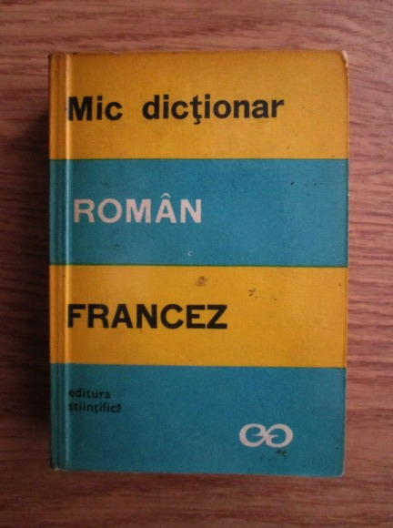 Anticariat: Marcel Saras - Mic dictionar roman-francez