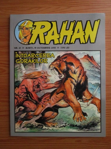 Anticariat: Rahan (nr. 21, octombrie 2010)