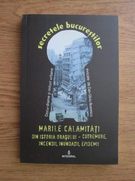 Anticariat: Dan Silviu Boerescu - Marile calamitati din istoria orasului. Cutremure, incendii, inundatii, epidemii
