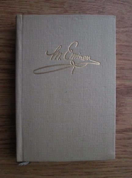 Anticariat: Mihai Eminescu - Poezii (Editie bibliografica format liliput)