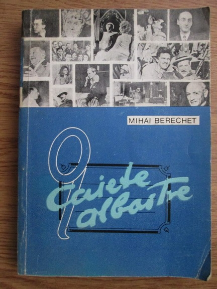 Anticariat: Mihai Berechet - Caiete albastre
