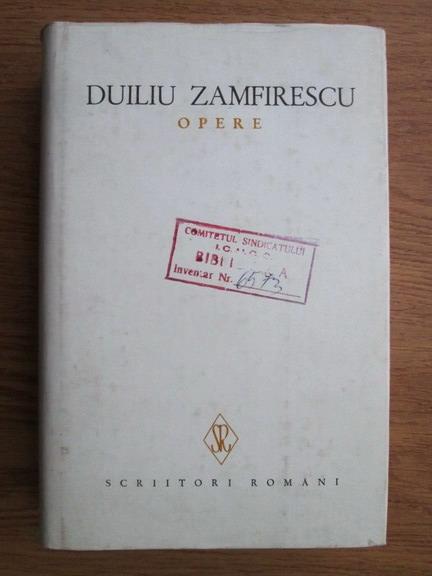 Anticariat: Duiliu Zamfirescu - Opere (volumul 5)